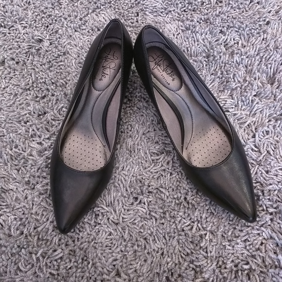 2b886b985e9 Life Stride Shoes - Amazingly Soft Life Stride Sevyn Black Heels